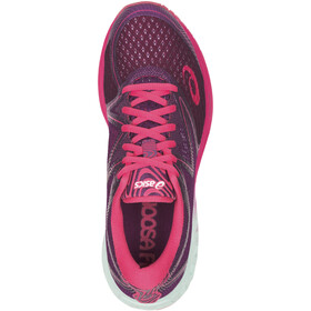 asics Noosa FF Chaussures Femme, prune/glacier sea/rouge red